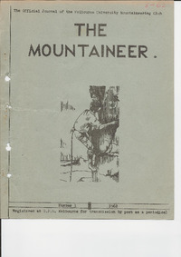 April 1962 Mountaineer