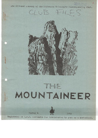 May 1962 Mountaineer
