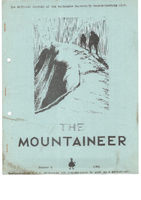 August 1962 Mountaineer