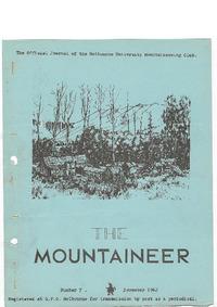 November 1962 Mountaineer