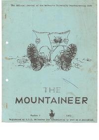 April 1963 Mountaineer