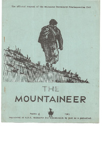 August 1963 Mountaineer