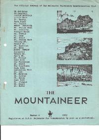December 1963 Mountaineer