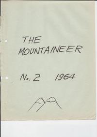 April 1964 Mountaineer