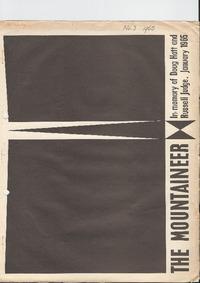 May 1965 Mountaineer