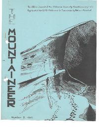 September 1966 Mountaineer