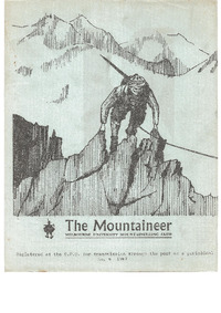 August 1967 Mountaineer