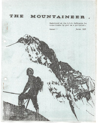 March 1968 Mountaineer