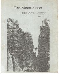 July 1968 Mountaineer