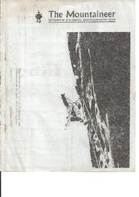 December 1968 Mountaineer