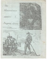 August 1969 Mountaineer