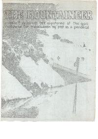 December 1969 Mountaineer