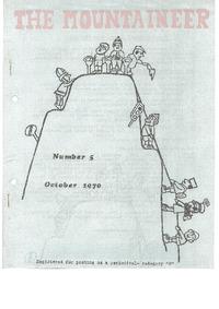 October 1970 Mountaineer