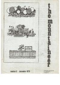 December 1970 Mountaineer