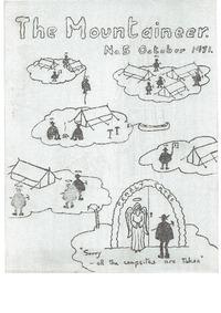 October 1971 Mountaineer