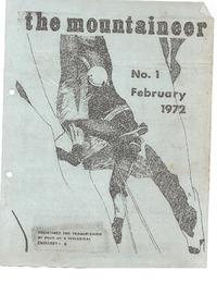 February 1972 Mountaineer
