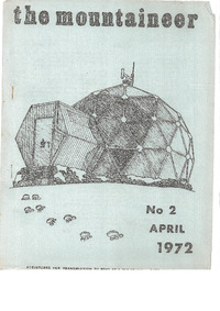 April 1972 Mountaineer