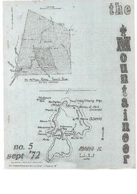 September 1972 Mountaineer
