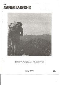 May 1974 Mountaineer