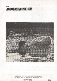 September 1976 Mountaineer