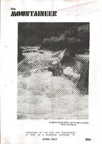 April 1977 Mountaineer