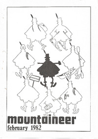 March 1982 Mountaineer