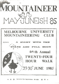 May 1985 Mountaineer