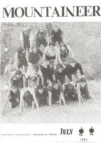 July 1985 Mountaineer