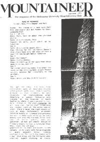 December 1993 Mountaineer